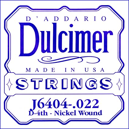 GHS DULCIMER STRINGS SET D20 LOOP END STAINLESS STEEL MADE IN THE USA