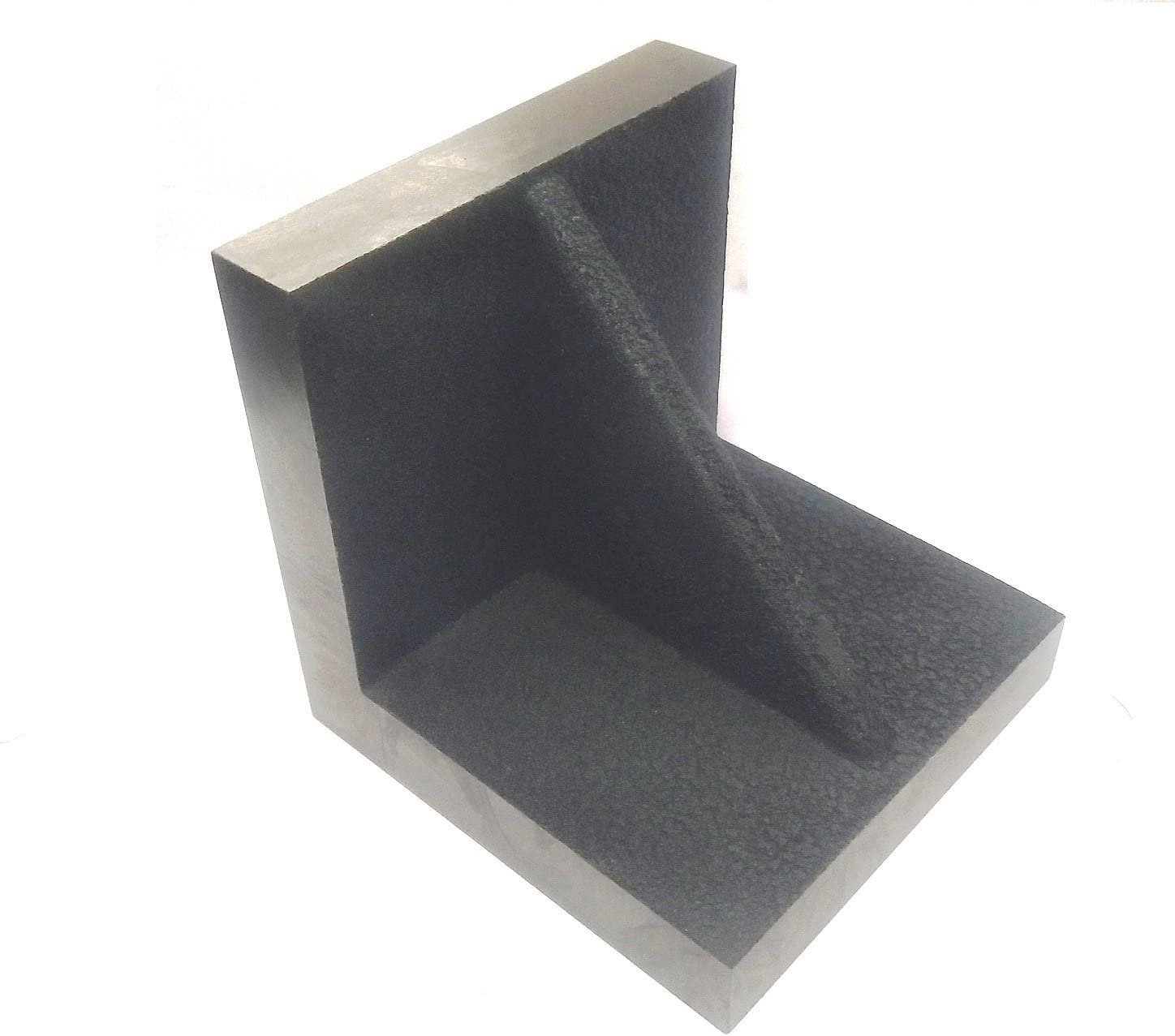 Caste Iron Solid Webbed Angle Plate 4 x 4 x 4 Stress Relieved