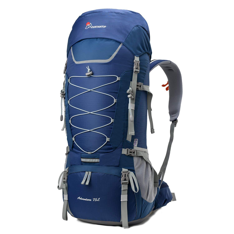 6420c0a5d3 MOUNTAINTOP 75L Zaino Trekking Impermeabile Escursionismo Montagna  Campeggio Alpinismo Viaggio product image
