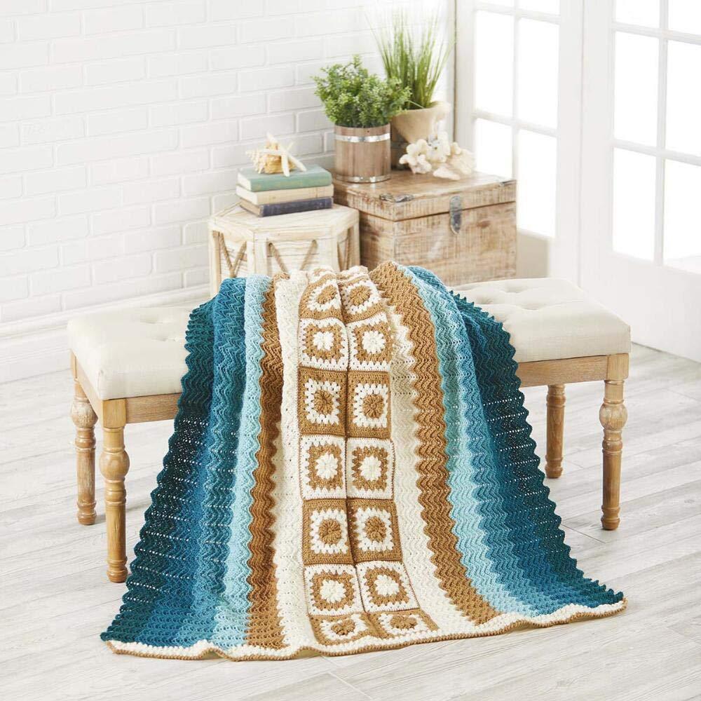 Herrschners® Vertical Granny Afghan Kit