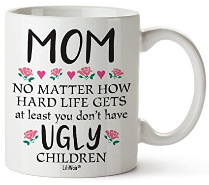 Amazon Com Mothers Day Gifts For Mom Gift Funny Birthday Coffee Cup