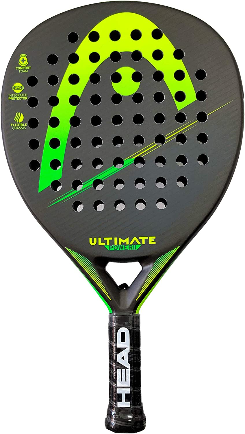 Head Pala de Padel Ultimate Power 2 Green/Yellow