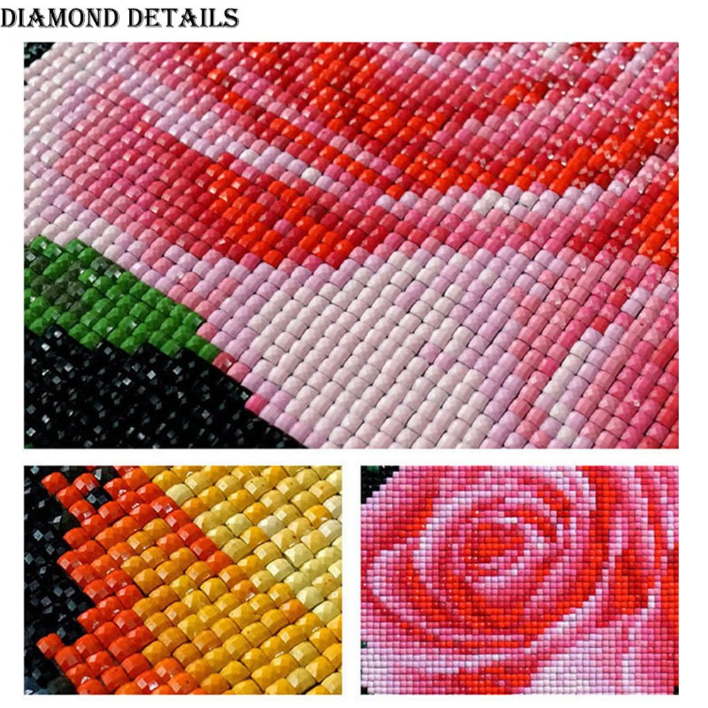 TZAMLI DIY 5D Diamant Malerei Vier Jahreszeiten Baum Stickerei ...