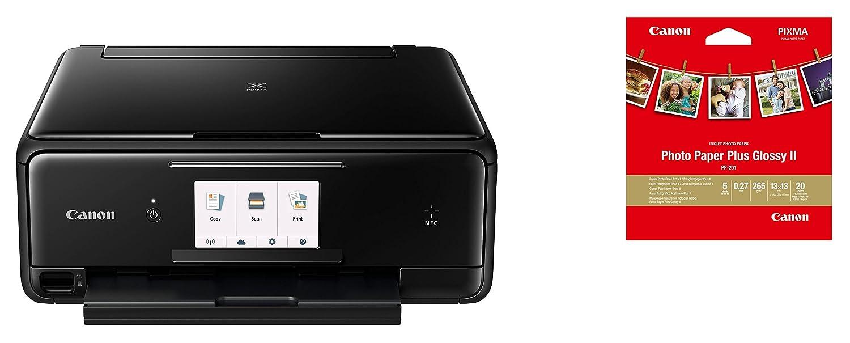 Canon PIXMA TS8050 Inyección de Tinta 9600 x 2400 dpi A4 WiFi - Impresora multifunción (Inyección de Tinta, Impresión a Color, 9600 x 2400 dpi, A4, ...