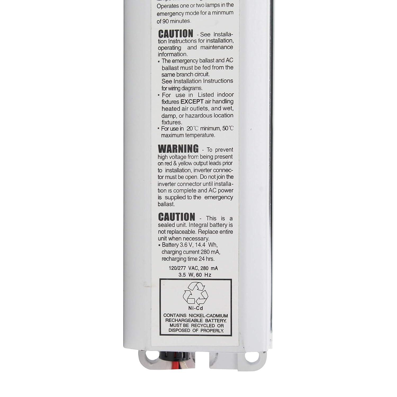 3 Lamp Emergency Ballast Wiring Diagram