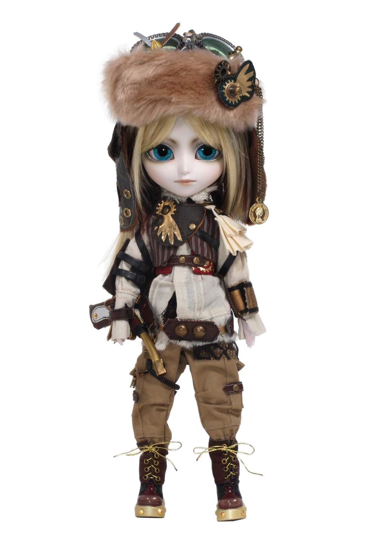 """Pullip Dolls Isul Steampunk 2nd Helios 11"""" Fashion Doll"""