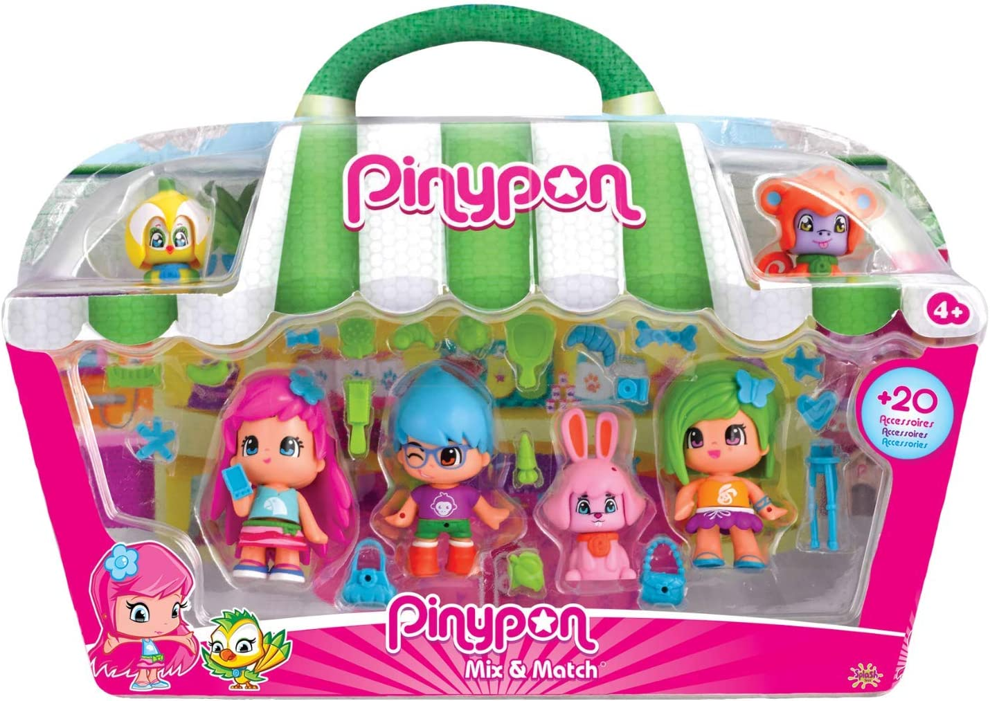 Amazon.es: Pinypon - City Pack con Cuatro Figuras (Famosa ...