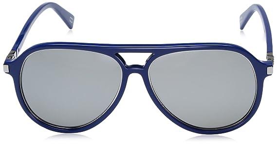 Marc Jacobs Herren Sonnenbrille Marc 174/S T4 Pjp, Blau (Bluee/Black FL), 58