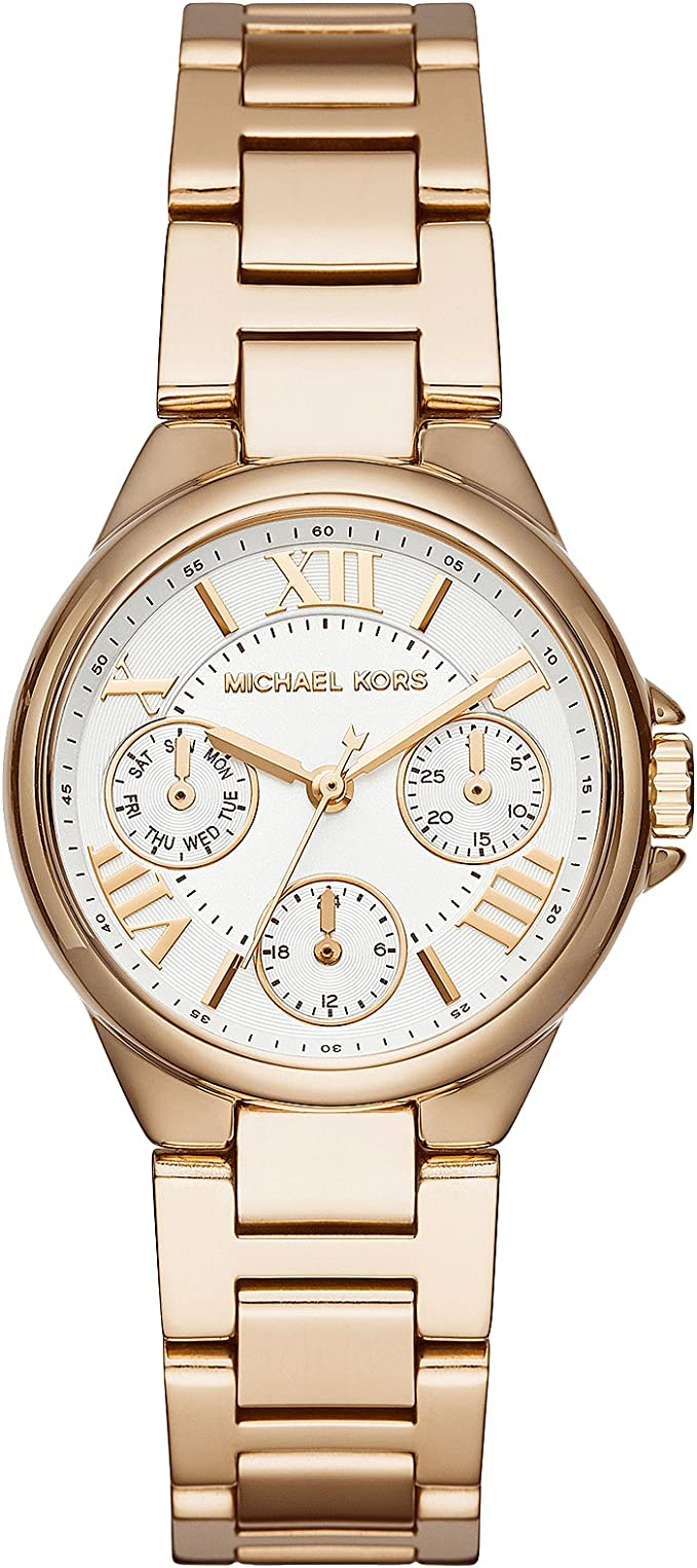 Michael Kors Women's Mini Bailey Gold Tone Stainless Steel