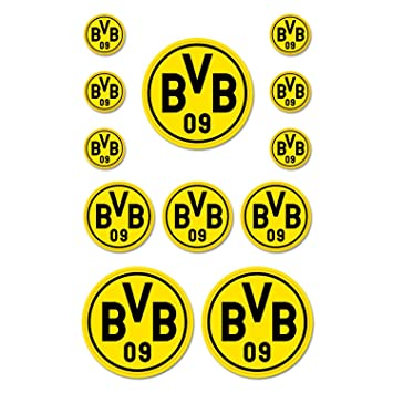 Borussia Dortmund tarjeta/Pegatinas - Plus gratis ...