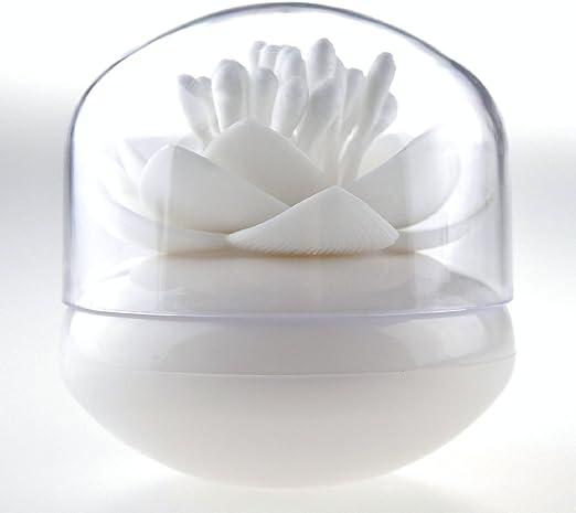 Bloss bastoncillos organizador Lotus Forma algodón torunda titular ...