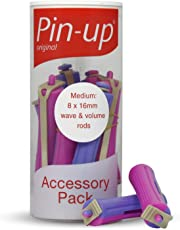 Pin Up Perm Rods Medium Wave And Volume Pack Of 8