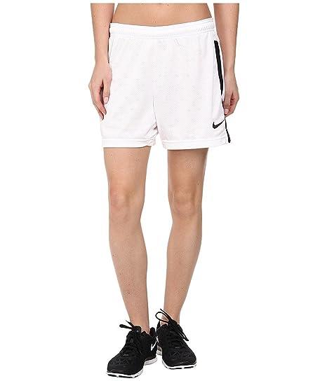 98e3906ff Amazon.com: Nike Womens Academy Knit Soccer Shorts (Small, White ...