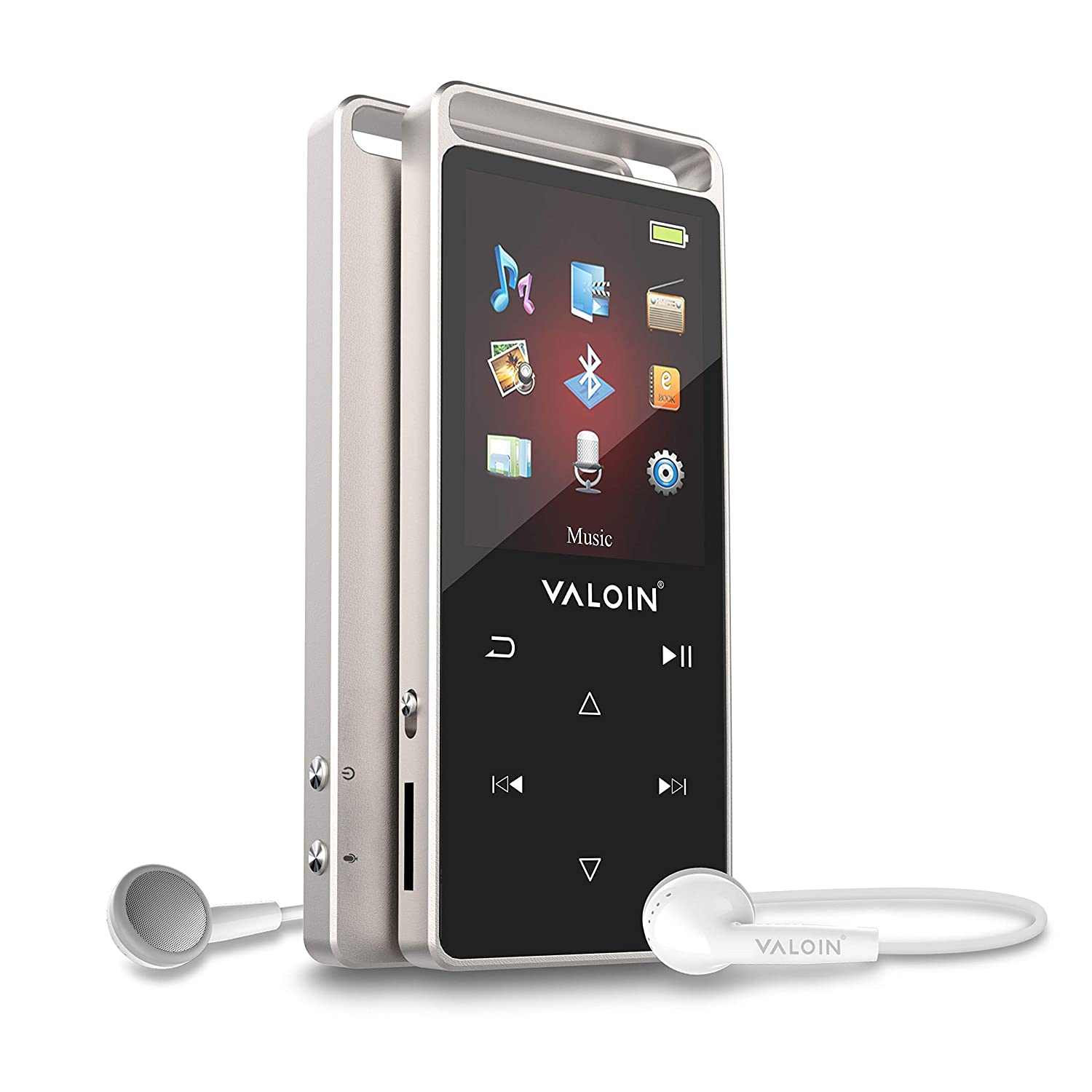 MP3 Player with Bluetooth 4.0 Valoin 8GB Metal Shell Lossless Sound Digital Audio Player