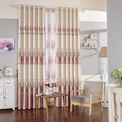 LINGZHIGAN Stampa tende per interni in tonalità di tende per camera ...