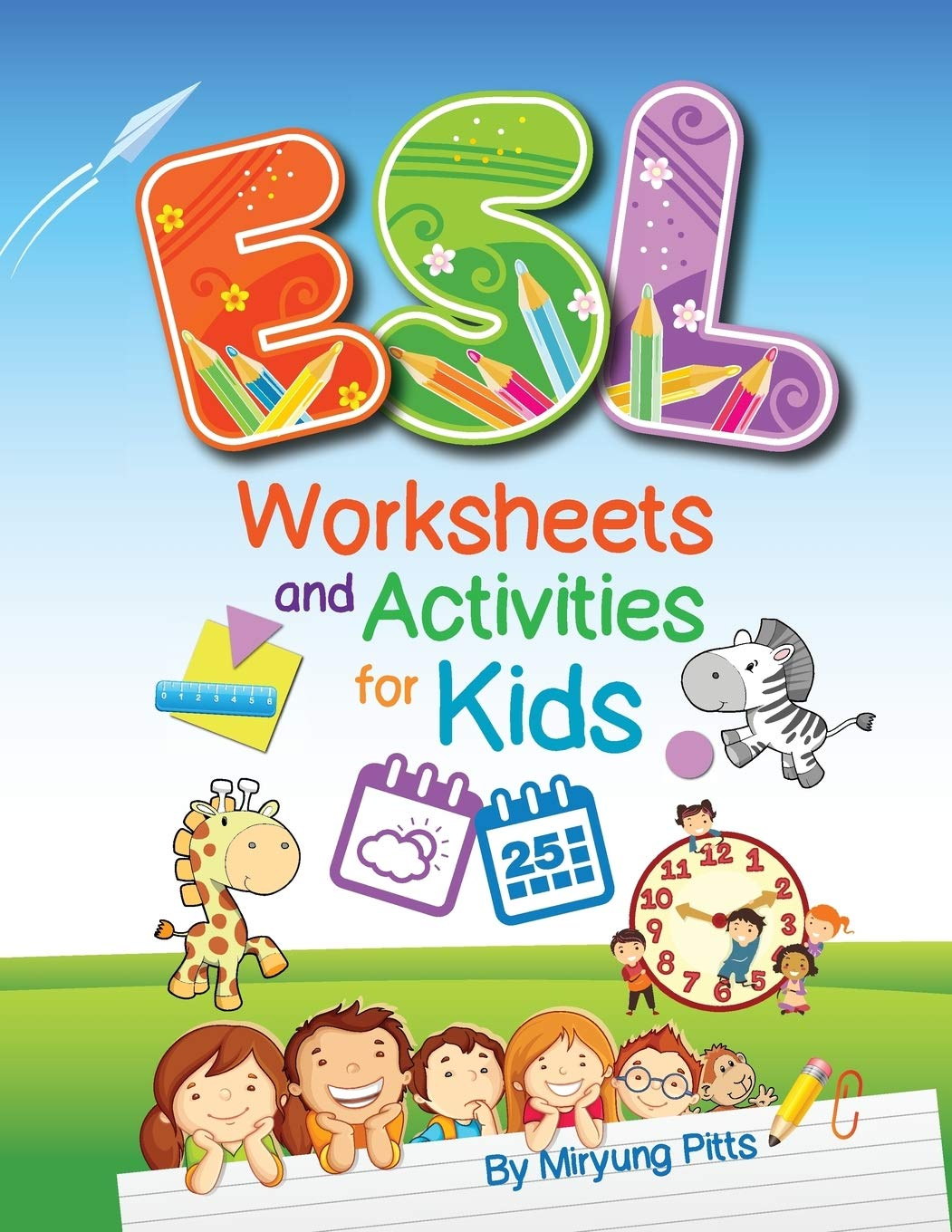 - ESL Worksheets And Activities For Kids: Amazon.ca: Pitts, Miryung
