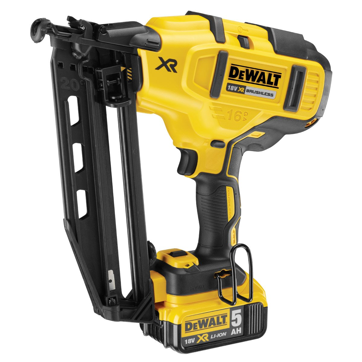 Dewalt dcn660p2-gb 18 V XR schnurlose Li-Ion Brushless: Amazon.de ...