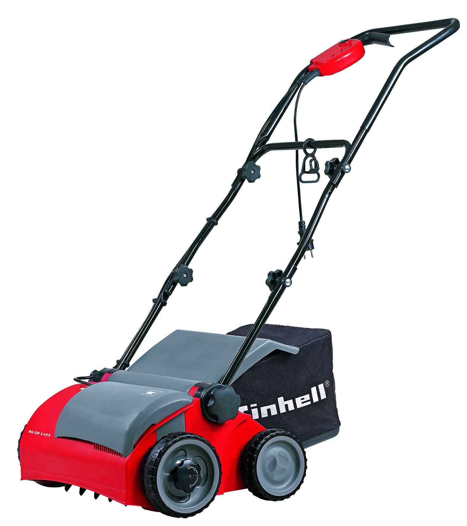 Einhell RG-SA1433, 1400 W, 230 V, Negro, Rojo, 1