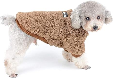 SELMAI Abrigos para Perros Pequeños Chihuahua Ropa Invierno Chaquetas Pequeño Gatos Accesorios para Mascotas Puppy Ropa Diaria A Prueba de Viento, ...