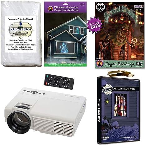 atmosfearfx Navidad y Halloween Digital decoración kit ...