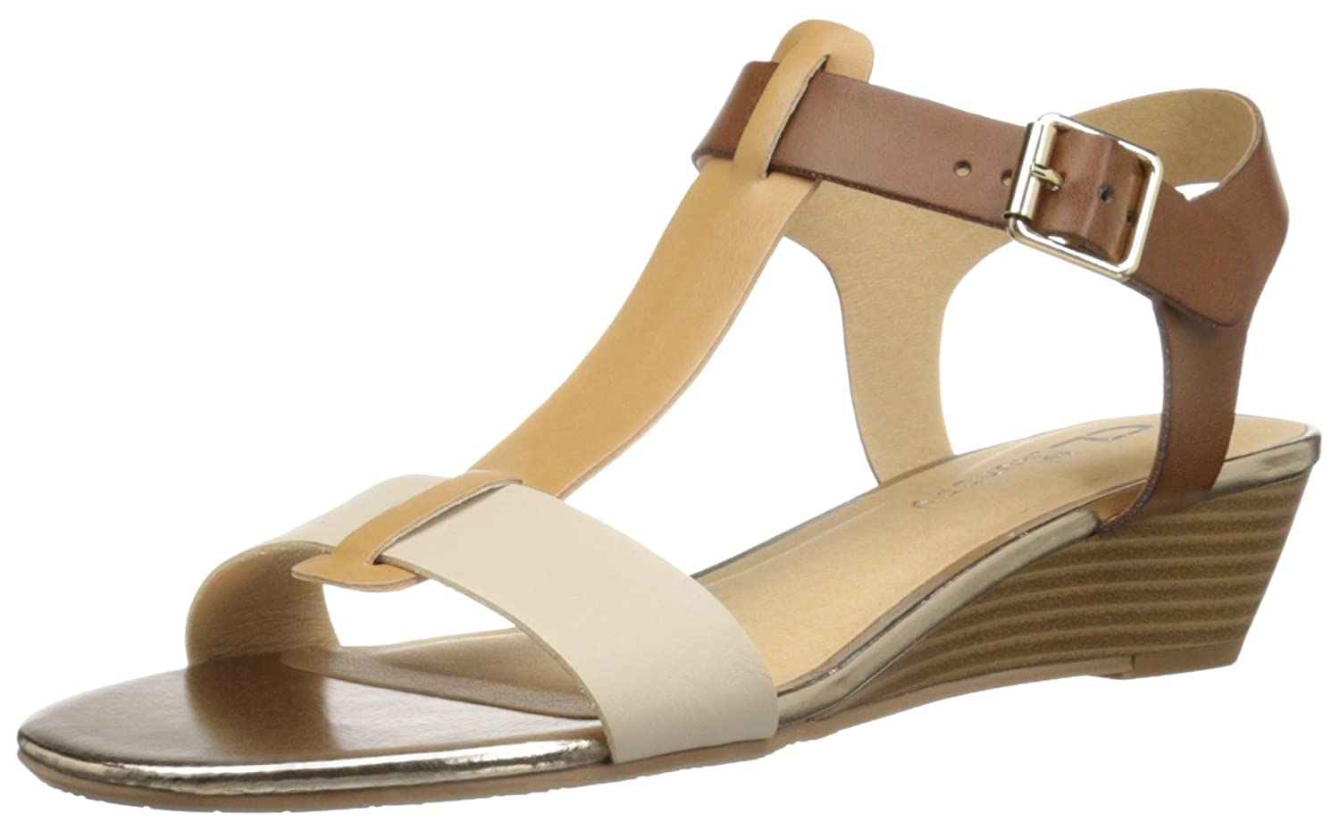 cade0cce5b7b durable modeling Cl by Chinese Laundry Women's Monie Burnished Wedge Sandal