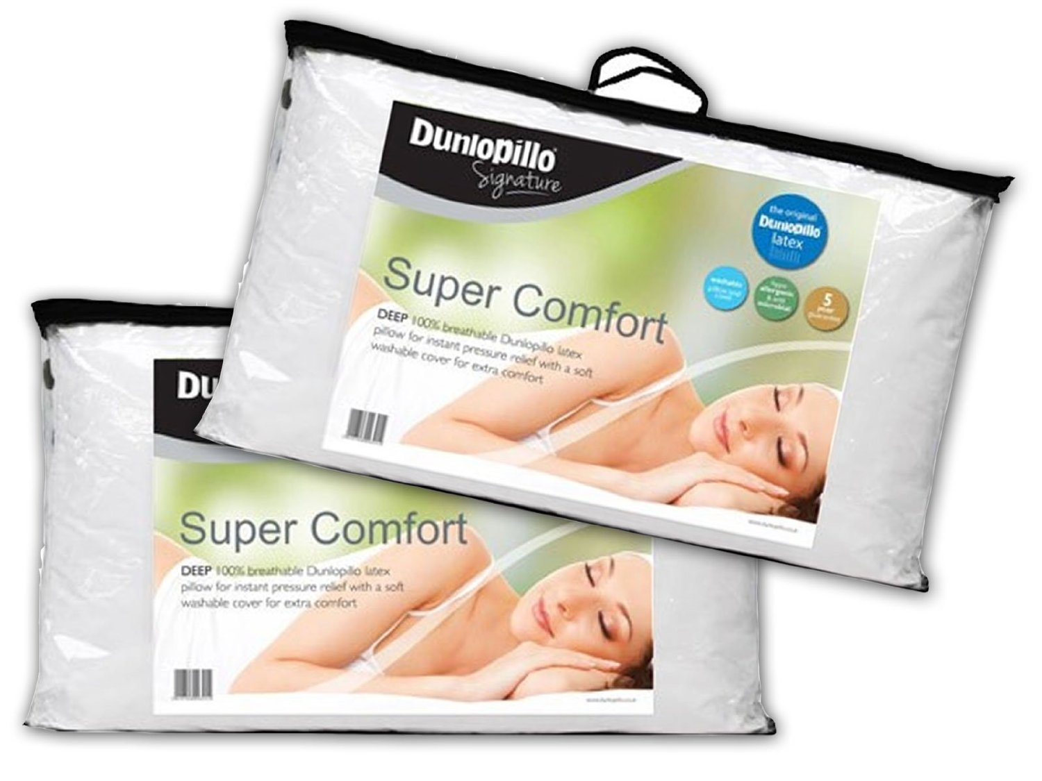 Dunlopillo hg3 1jl Latex Foam Pillow