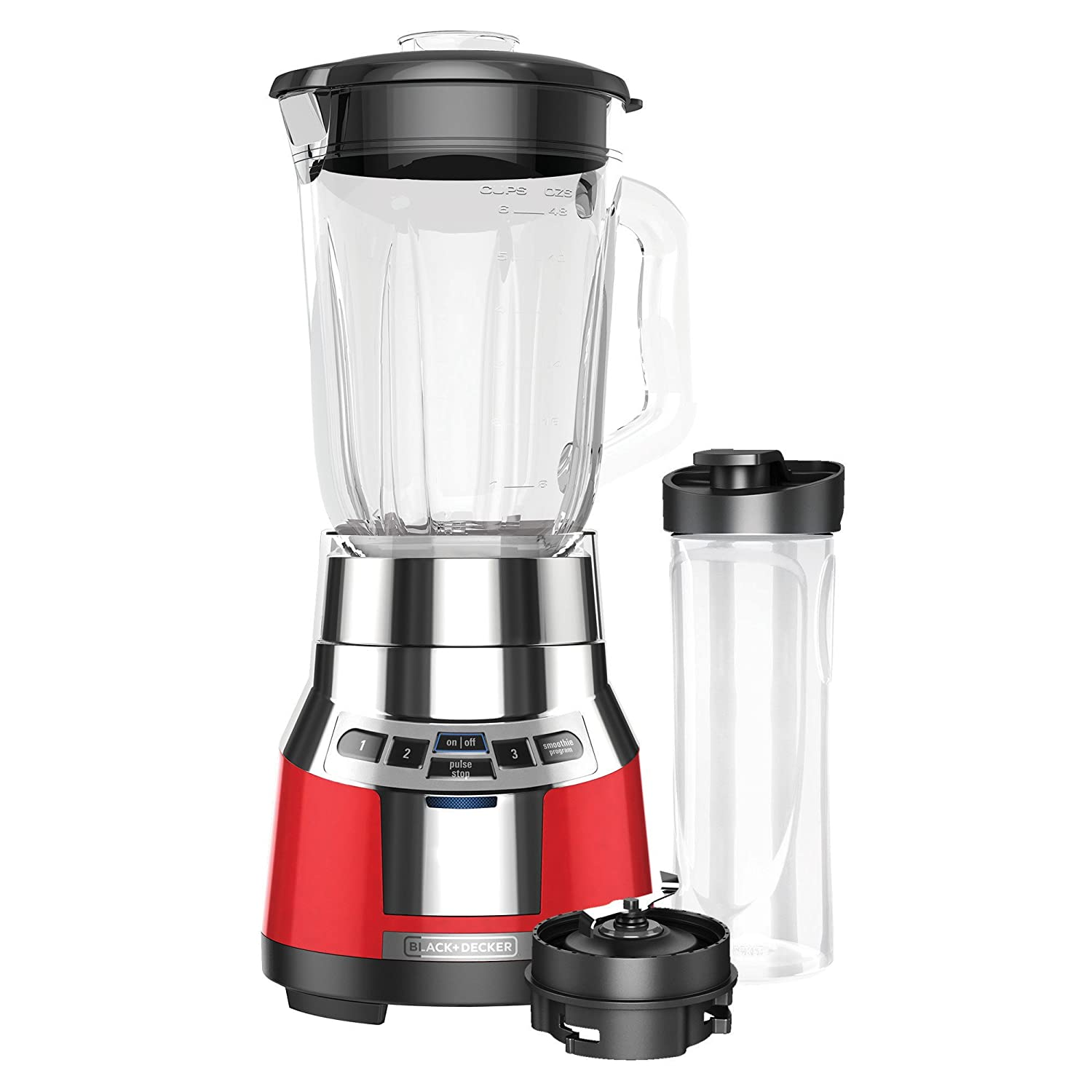 Black & Decker BL1821RG-P FusionBlade Digital Blender with ...