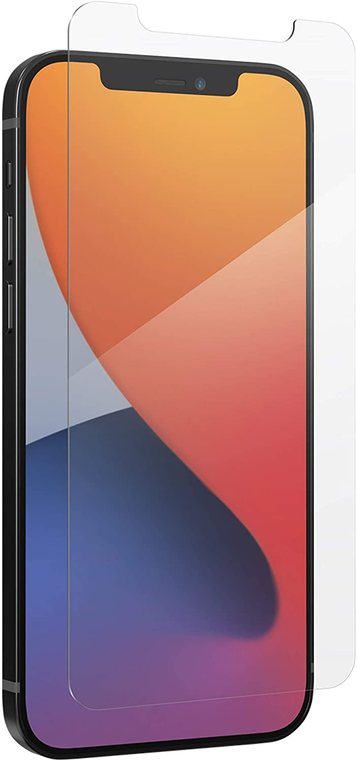 ZAGG InvisibleShield Glass Elite VisionGuard+ Anti-Microbial Screen Protector - for iPhone 12 Pro Max - Impact Protection, Scratch Resistant, Fingerprint Resistant, Smudge Resistant, Oil Resistant