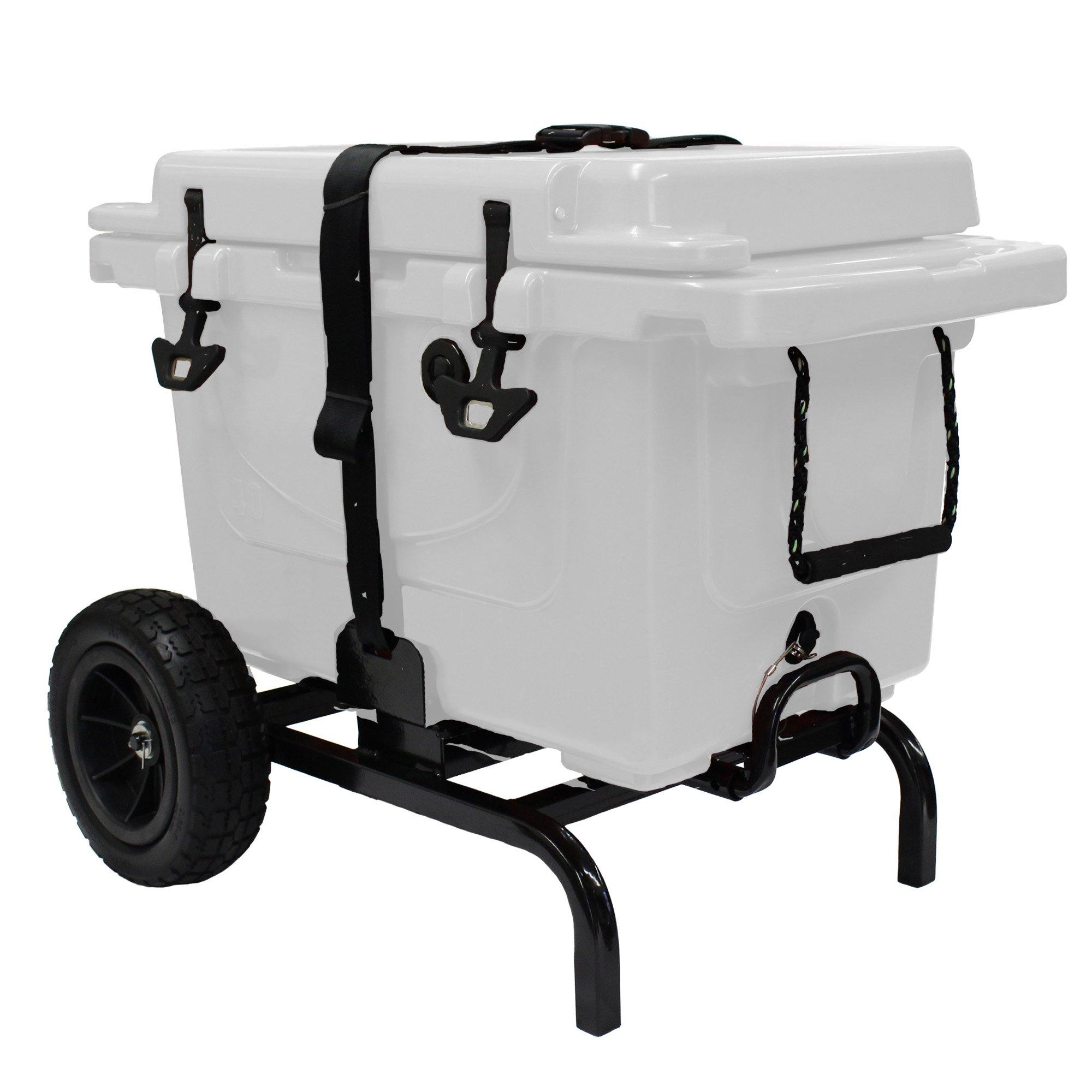 Garden Star 70135 Universal Fit Cooler Cart, Black by Garden Star (Image #2)