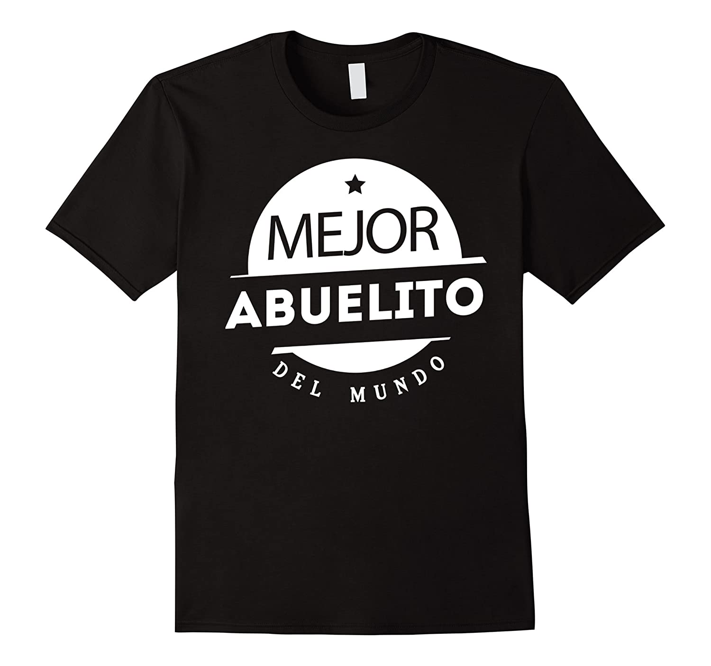 Mens Regalo Para Abuelo Mejor Abuelito del Mundo Camiseta-Vaci