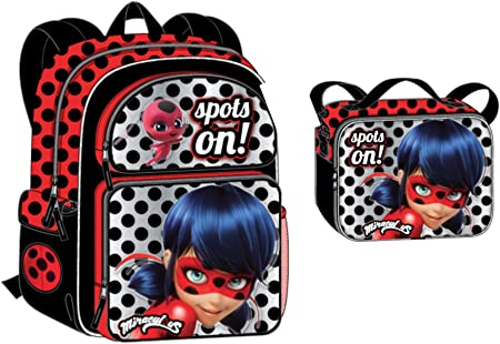 New Licensed Product Nickelodeon Miraculous Ladybug Lunch Bag