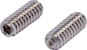 Oval Point 1//4 inch Square Head Bolts Alloy Steel Case Hardened Square Head Set Screw 1//4-20 x 2 Coarse Thread Quantity: 50 Length: 2 inch Black Oxide Full Thread