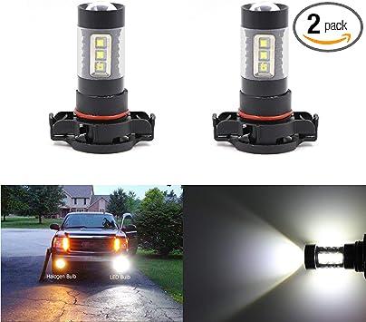 2 X Car 9006 HB4 6000K Xenon 18 SMD LED White Car Fog Light Lamp Bulb Bright