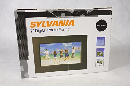 Amazon Sylvania SDPF785 7 Digital Photo Frame Digital