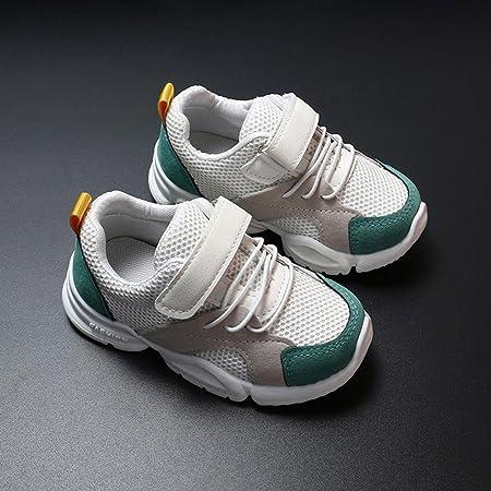 ZODOF Niño pequeño Bebé Niños Niñas Niños Zapatillas de Deporte Casuales Malla Zapatillas de Deporte Zapatos Zapatillas Respirable Mocasines