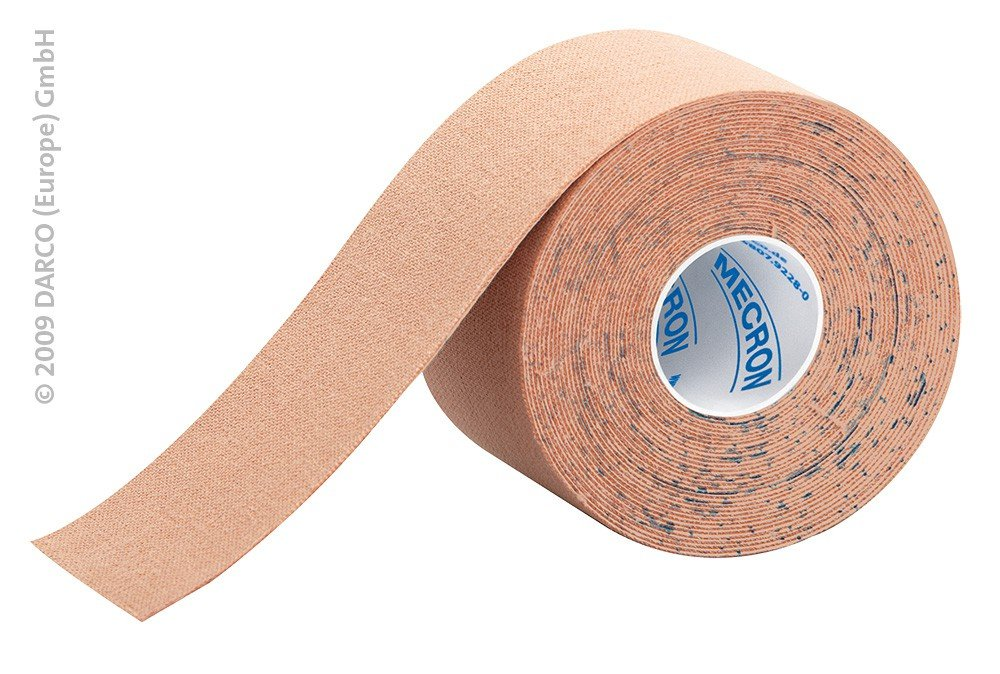 DARCO Kinesiology Elastic Tape 5cm x 5m (2''x16') Professional Sport Therapy -Beige/Tan-