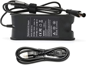 Tinkon AC Power Adapter 90W Charger for Dell Latitude 3330 3440 E6420 E5250 E5450 E5430 E5530 E5550 E6330 Inspiron 17 N4010 N7010 Power Supply Cord