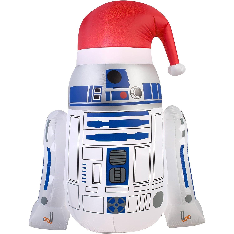 Star Wars Disney R2D2 - Gorro de Papá Noel (Hinchable, 4, 5 pies ...