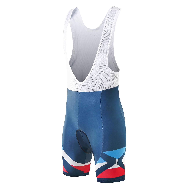 3D Padded Breathable Bike Shorts Xtextile Mens Cycling Bib Shorts