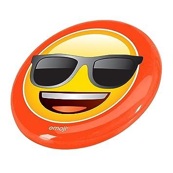 Emoji Gafas de sol cara disco volador, color amarillo ...