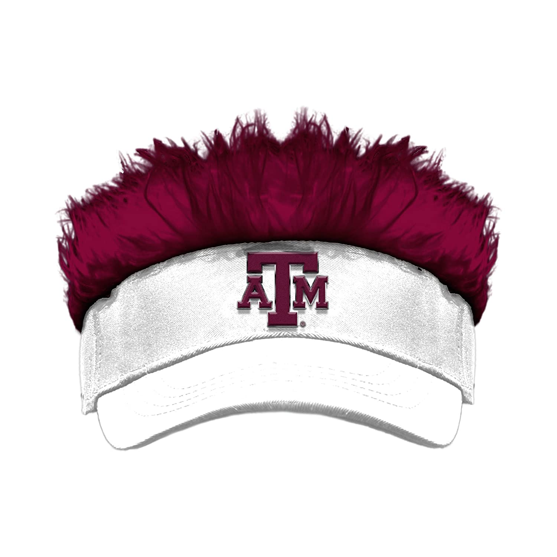 The Northwest Company Officially Licensed NCAA Texas A/&M Aggies Flair Hair Visor
