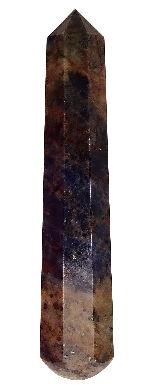 Harmonize Lapis Lazuli Stone Reiki Healing Crystal Obelisk Tower Spiritual Gift Table Décor