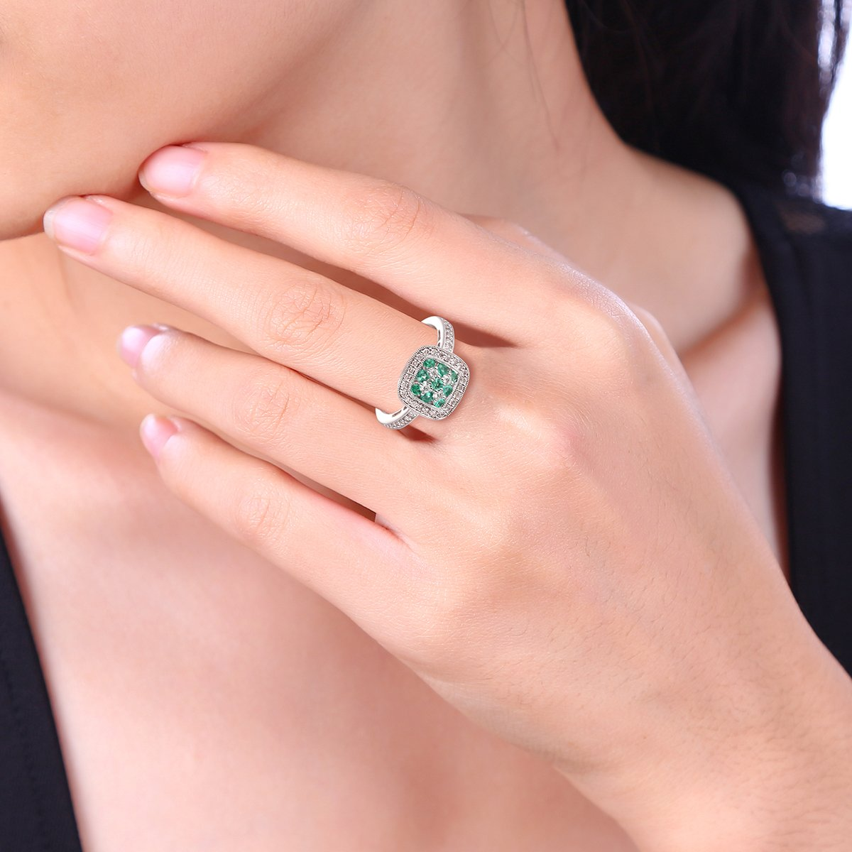 Ferhe New York Independence Day Sale, 14K Gold, Diamond & Emerald ...