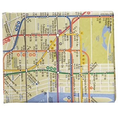 New York Subway Map Wallet.The Mighty Wallet Nyc Subway Map Amazon Ca Toys Games