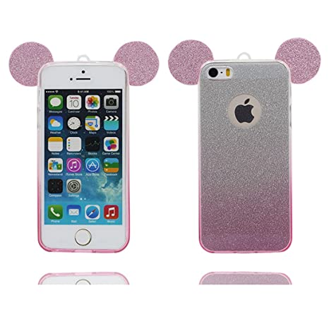 Cover iPhone 5 Funda, iPhone 5S SE 5C 5G Carcasa, Bling ...
