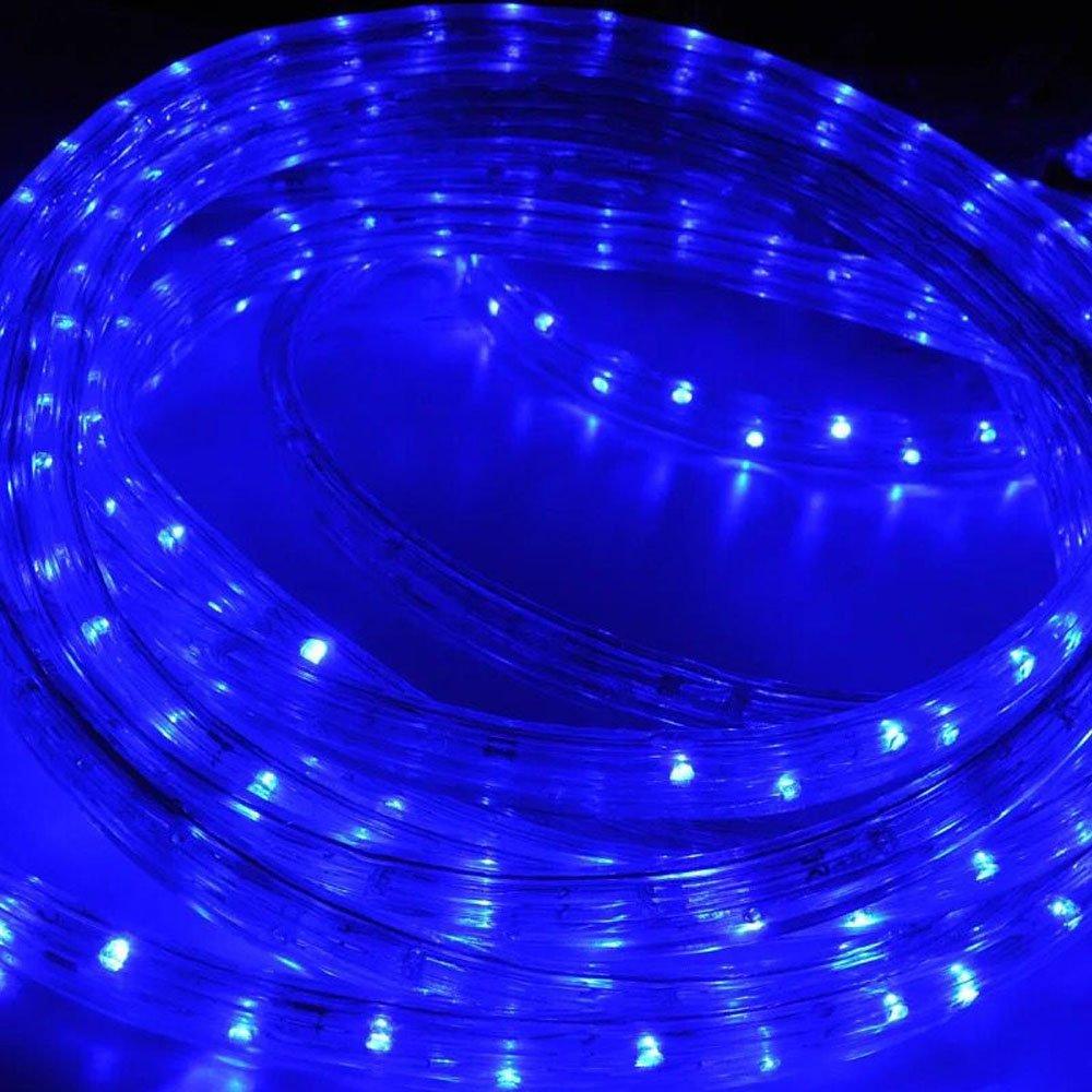 f/ür Dekoration 480 LEDs Lichterschlauch Party Hochzeit Garten Wasserdicht Lichterkette Strombetrieben Hengda 20m LED Lichtschlauch Warmwei/ß