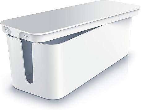 Beasrware - Caja para Cables - Organizador para Cables -Caja para Cables - Caja para esconder Cables -Organizador para regletas de enchufes: Amazon.es: Electrónica