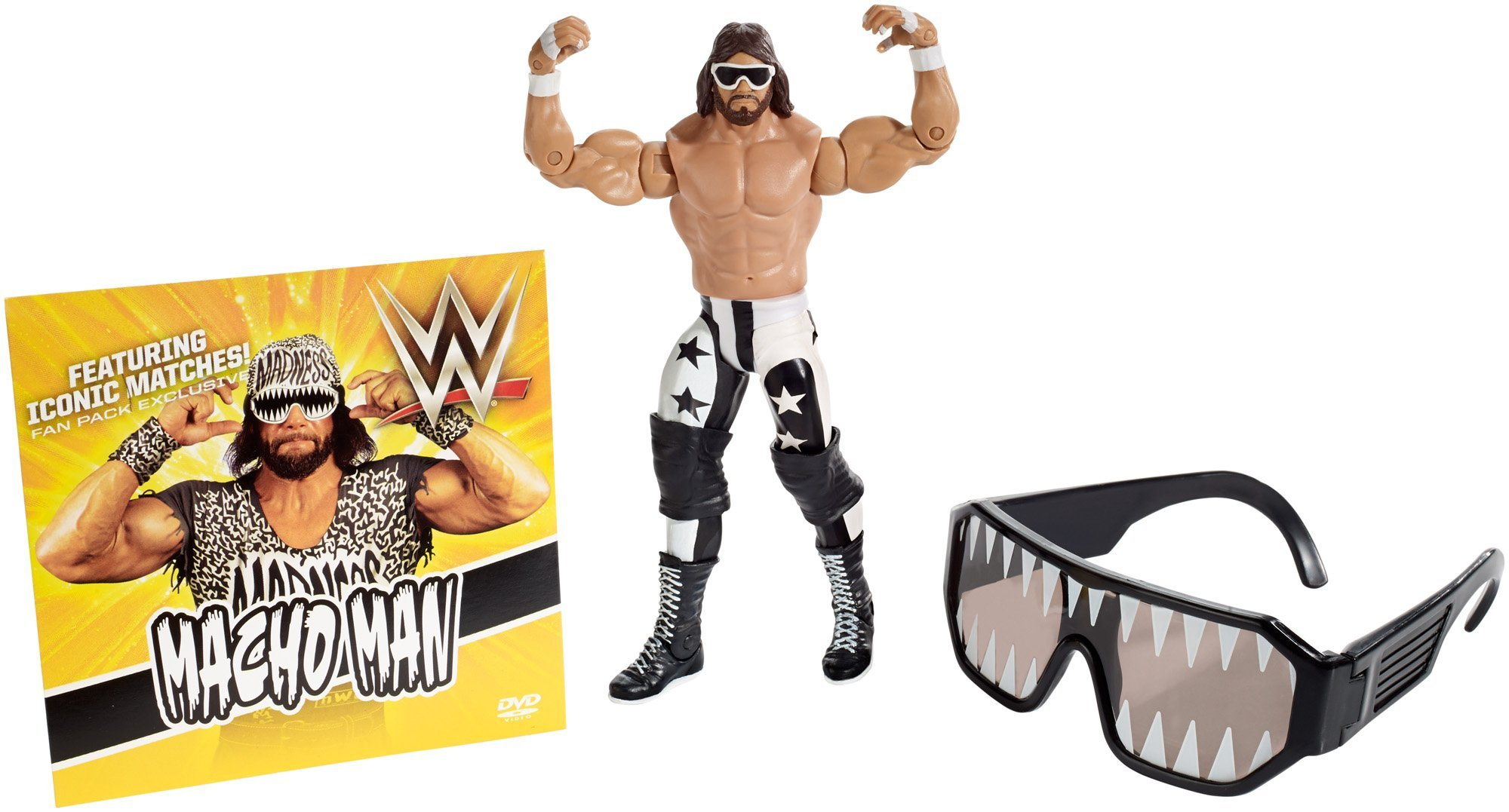 WWE Macho Man Ultimate Fan Pack Action Figures