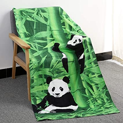 NAHASU | Bath Towels | Panda Bath Towel Children Cotton Serviette De Bain Summer Beach Towel