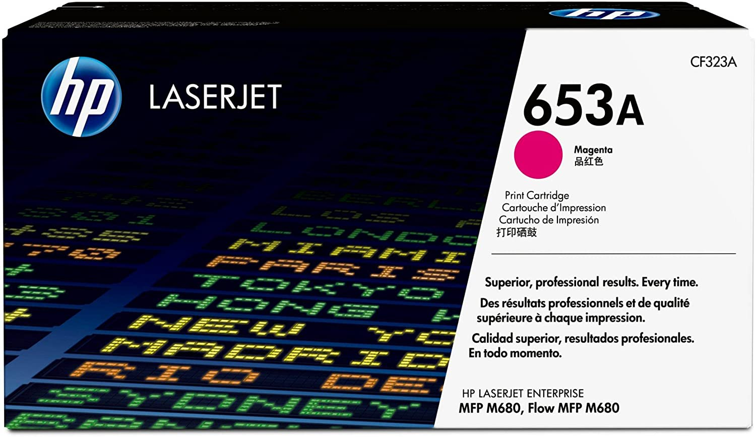 HP 653A | CF323A | Toner Cartridge | Magenta